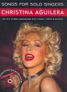 Songs for Solo Singers - Christina Aguilera (+CD)