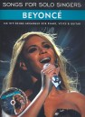 Songs for Solo Singers - Beyoncé (+CD)