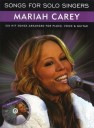 Songs for solo Singers - Mariah Carey  (+CD) : songbook piano/vocal/guitar