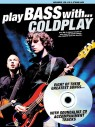 Play Bass with Coldplay (+CD)